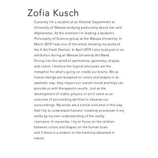 Zofia Kusch
