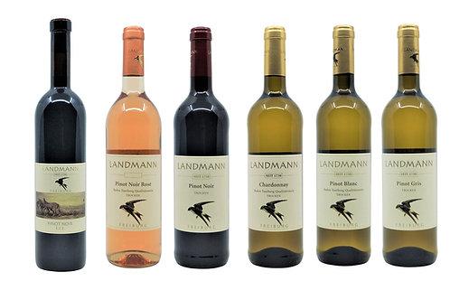 Attraktive 6er Weinprobe