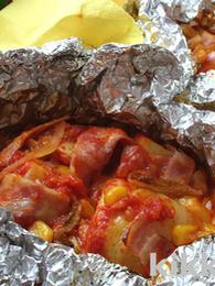 Foil-Wrapped Potato Gratin