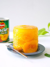 Peach Jelly in a can