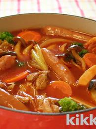 Tomato Hot Pot Soup