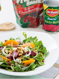 Peach and Cranberries Salad