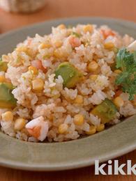 Corn Avocado Fried Rice
