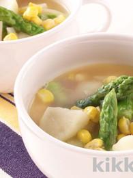 Potato and Asparagus Soup