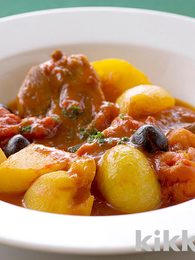 Simmered Lamb and Tomatoes