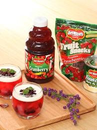 Cranberry Jelly with Nata de Coco
