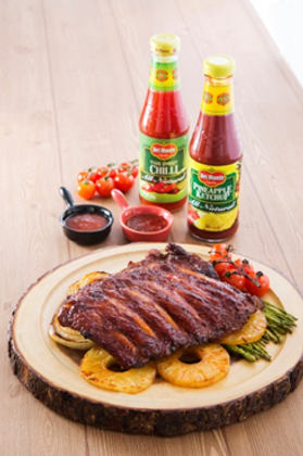 Braised Spare Ribs in Pineapple Ketchup