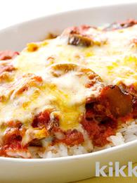 Meat Sauce and Eggplant Doria