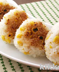Fried Rice Balls with Corn