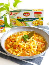 Italian Tomato and Vegetable Macaroni Soup