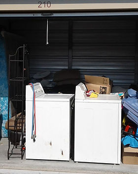Self Storage clean out