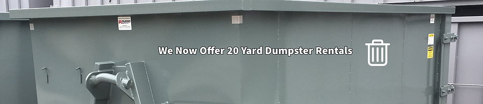 20 Yard Dumpster Rental
