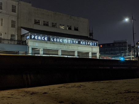 PEACE LOVE UNITY RESPECT in Margate