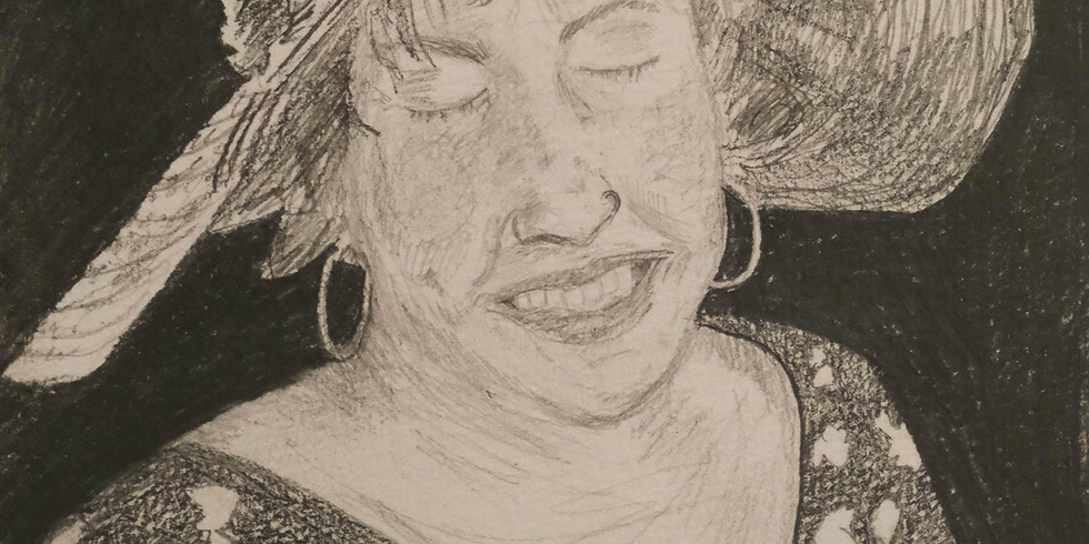 An Art-Line for Margate: Online Portrait class with Lucy McGeown