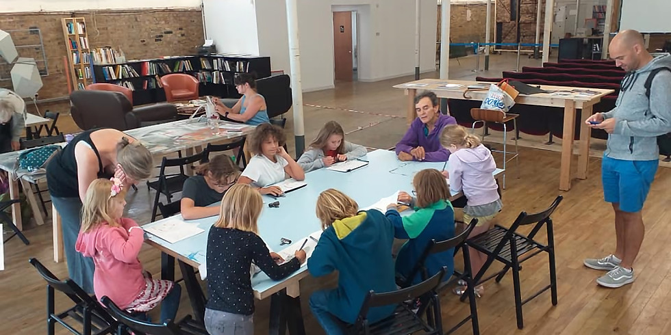 TMS Children's Drawing Masterclass