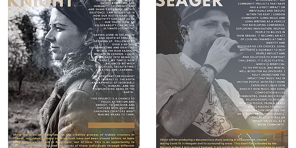 An Art Line for Margate : Carla Knight & Oliver Seager
