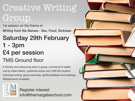 New Creative Writing Group at TMS