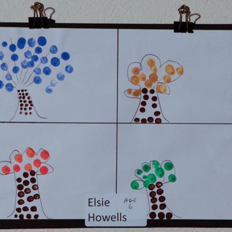 Elsie Howells - Age 6