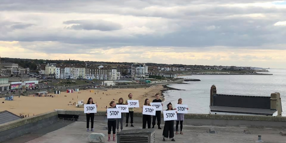 Live Performance of Moving Labour @ The Margate School: Stop the War on People, Nature, Society