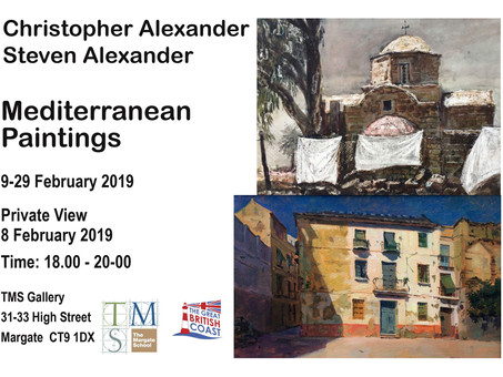 Christopher & Steven Alexander Exhibition              9-29 February 2020