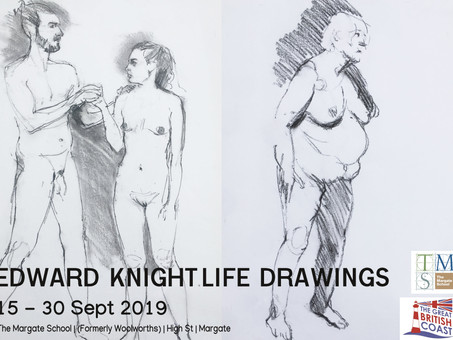 Edward Knight Life Drawings Exhibition