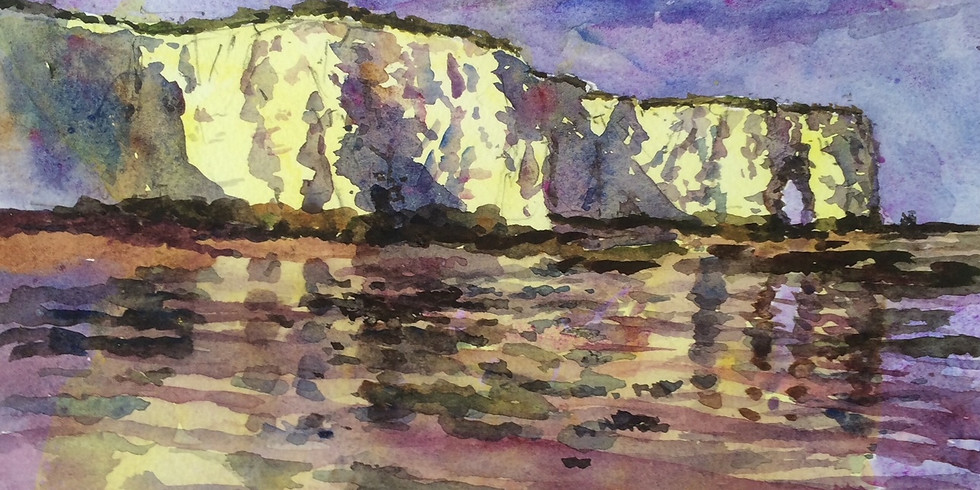 The skies over Thanet (and the sea): paintings by Christopher and Steven Alexander