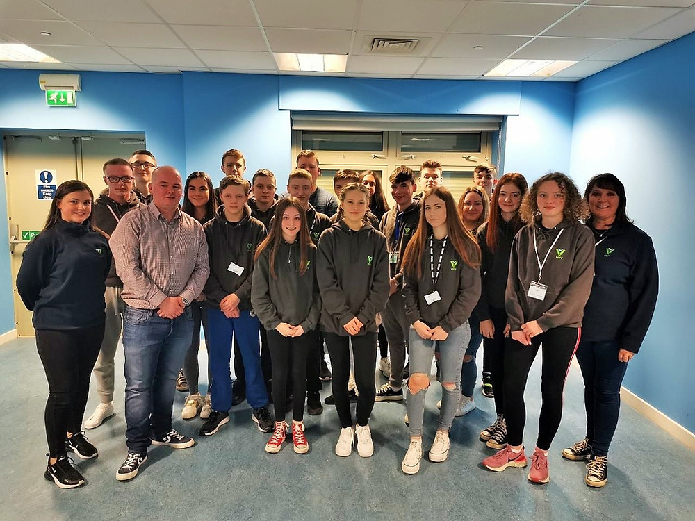 Police Scotland Youth Volunteers Inverclyde, taken pre-pandemic