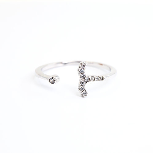 Aries Zodiac Ring