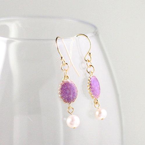 Rococo Freshwater Pearl Earrings