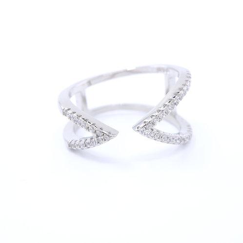 Double V Open Ring