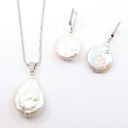 Baroque Freshwater Pearl Necklace Set
