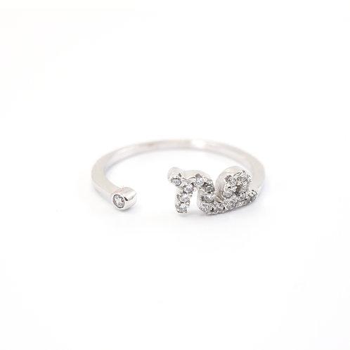 Capricorn Zodiac Ring