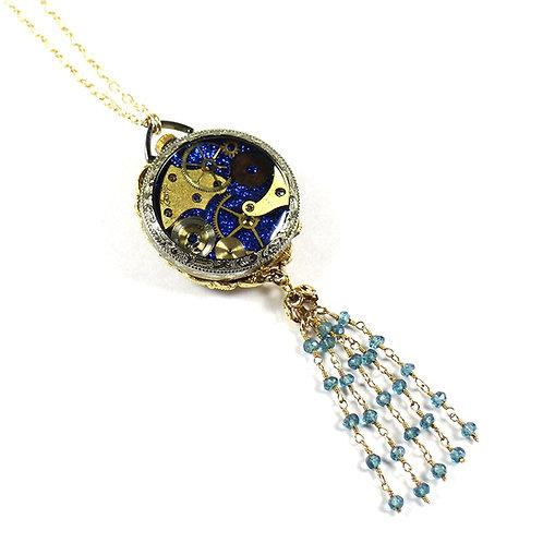 Steampunk Antique Pocket Watch Necklace - Majestime