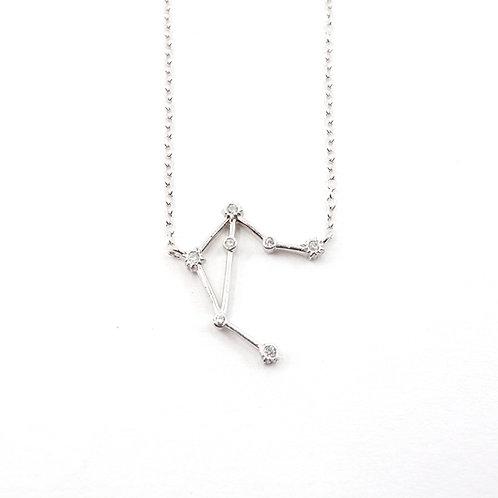 Libra Zodiac Constellation Necklace