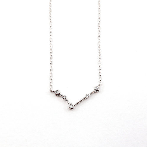 Aries Zodiac Constellation Necklace