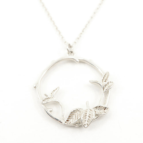 Wreath of Leaf Necklace