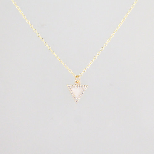 Candy Glow Triangle Necklace