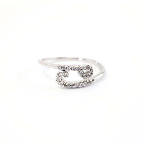 Cancer Zodiac Ring