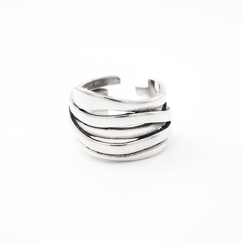 Sterling Silver Multi Band Ring