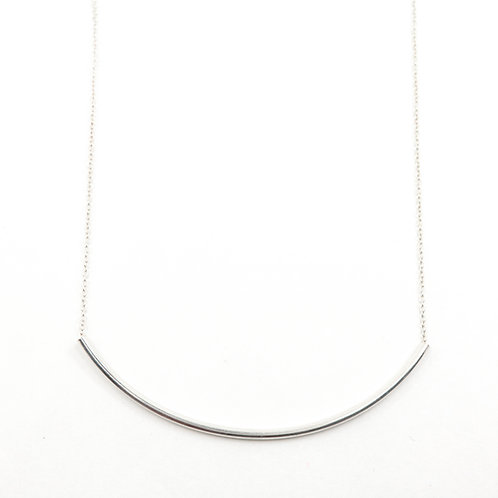 Large Curved Bar Necklace