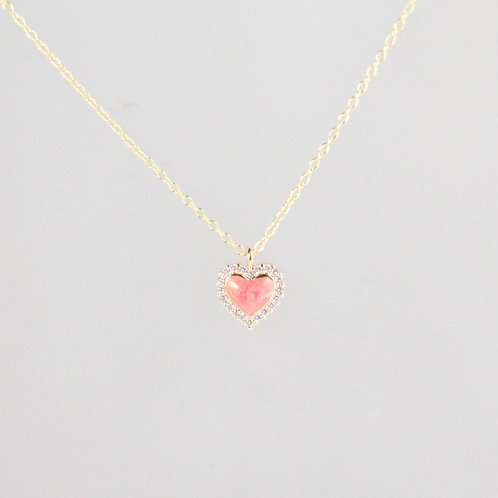 Candy Glow Heart Necklace