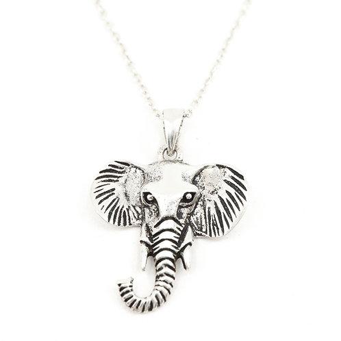 Elephant Head Necklace