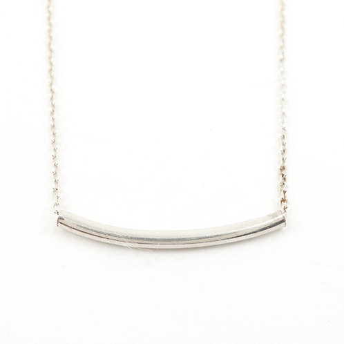 Small Curved Bar Necklace