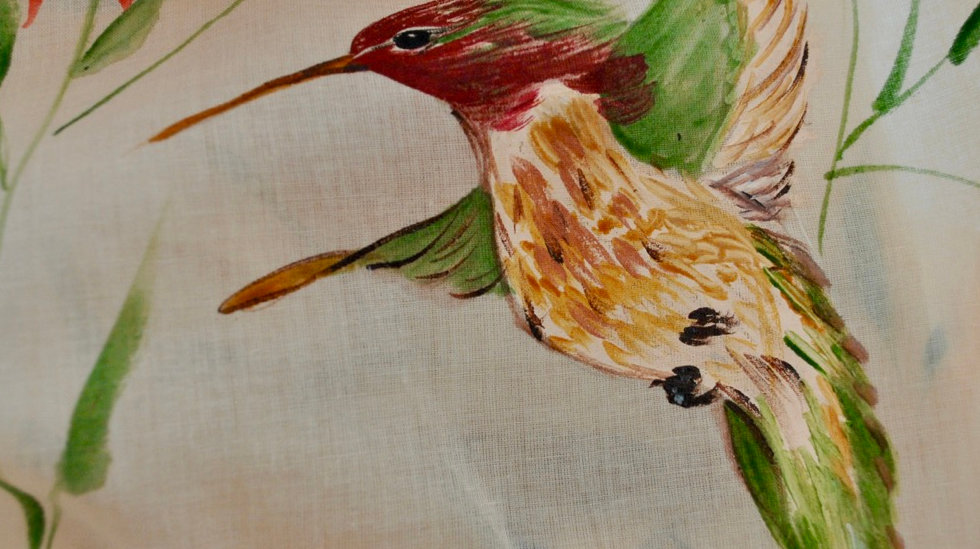 Handpainted Scarves By BooBerry