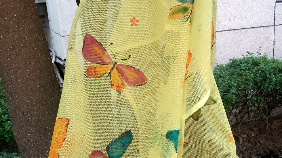 SPRING BUTTERFLIES HAND PAINTED WITH LOVE