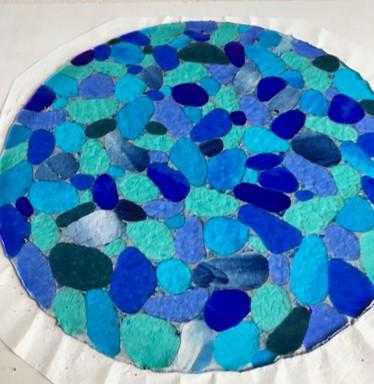 Seaglass Pebble Porthole