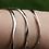 Thumbnail: Sculpted Silver Bangle