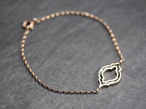 Farrah Bracelet in Rose Gold Vermeil