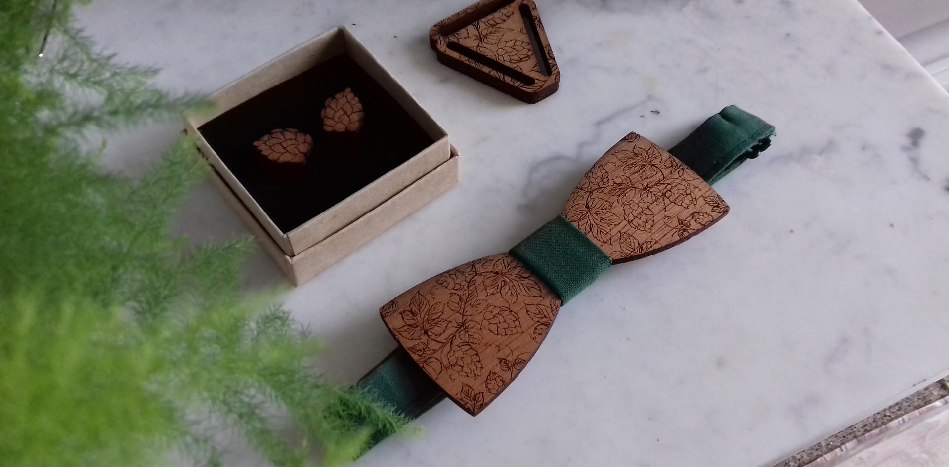 création noeud + accessoires houblon