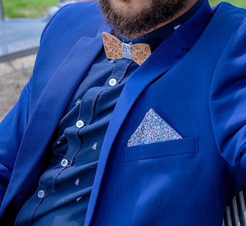 Pochette de costume assortie